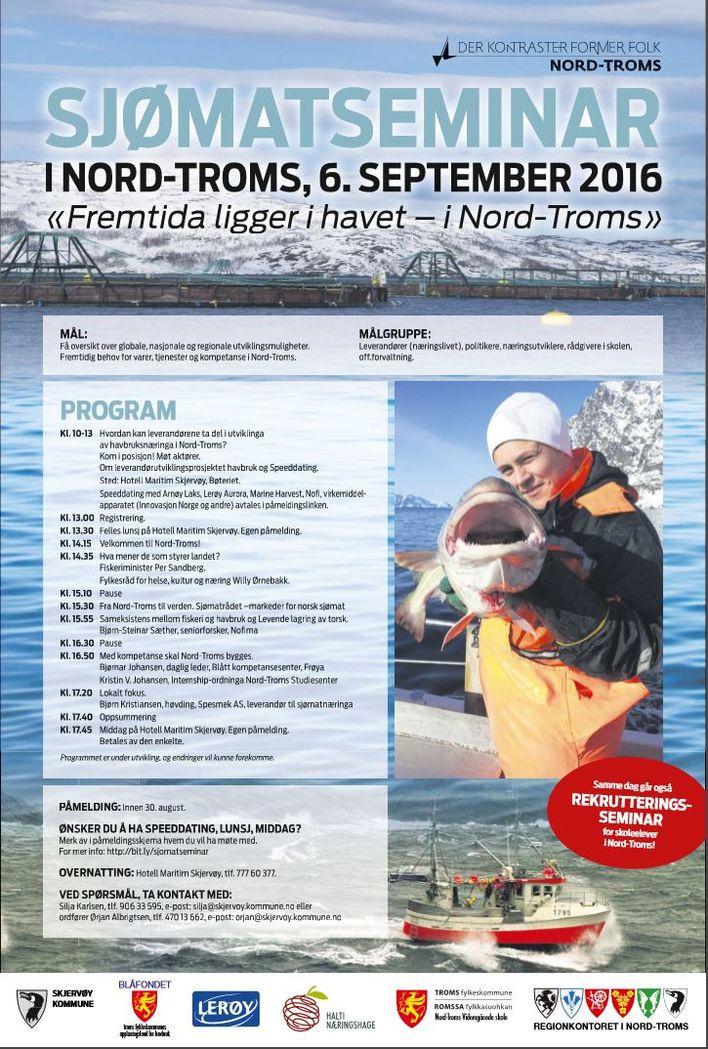 Program sjømatseminar