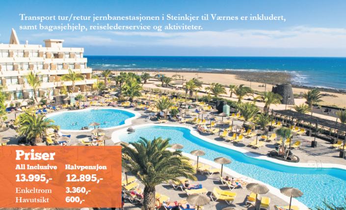 Trivselstur til Lanzarote 2016