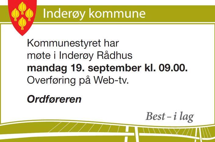 Kommunestyremøte 19.09.16
