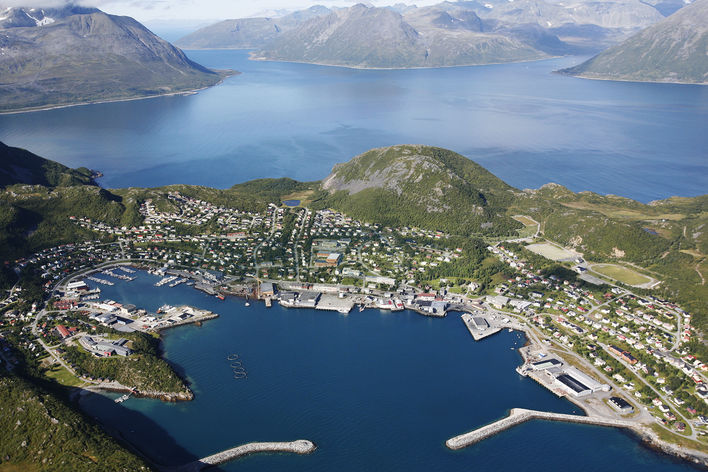 Kystbyen - Helge Guttormsen