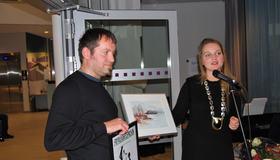 Georg Are Sarheim hedres for sitt frivillige arbeid