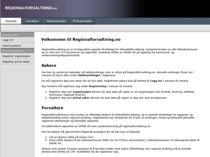 Regional forvaltning