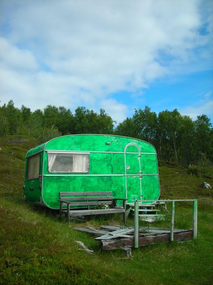 campingvogn, hytte