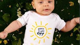 Informasjonsbrosjyre om trygt sovemiljø for spedbarnet