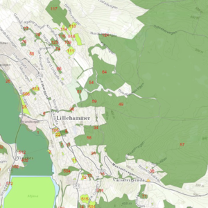 Friluftsområder i Lillehammer