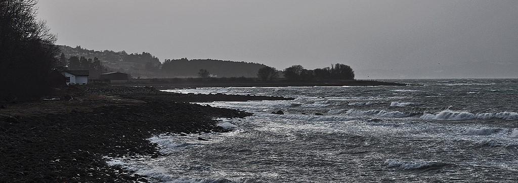 Illustrasjonsbilde av strandsonen i Malvik