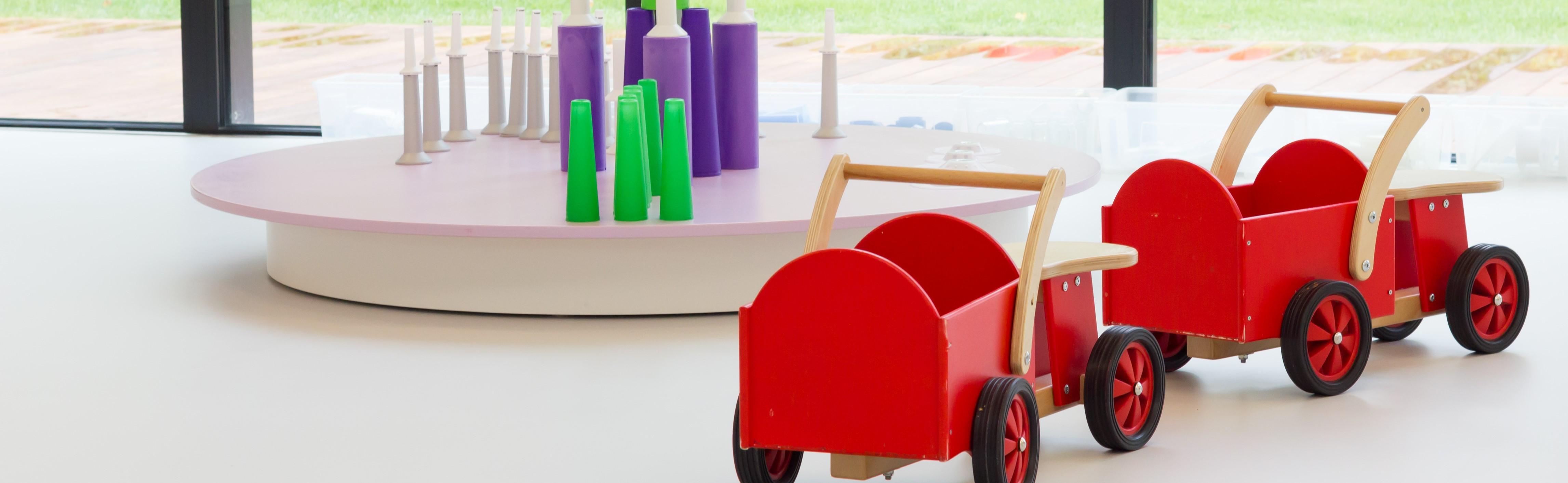 Illustrasjonsbilde av barnehage