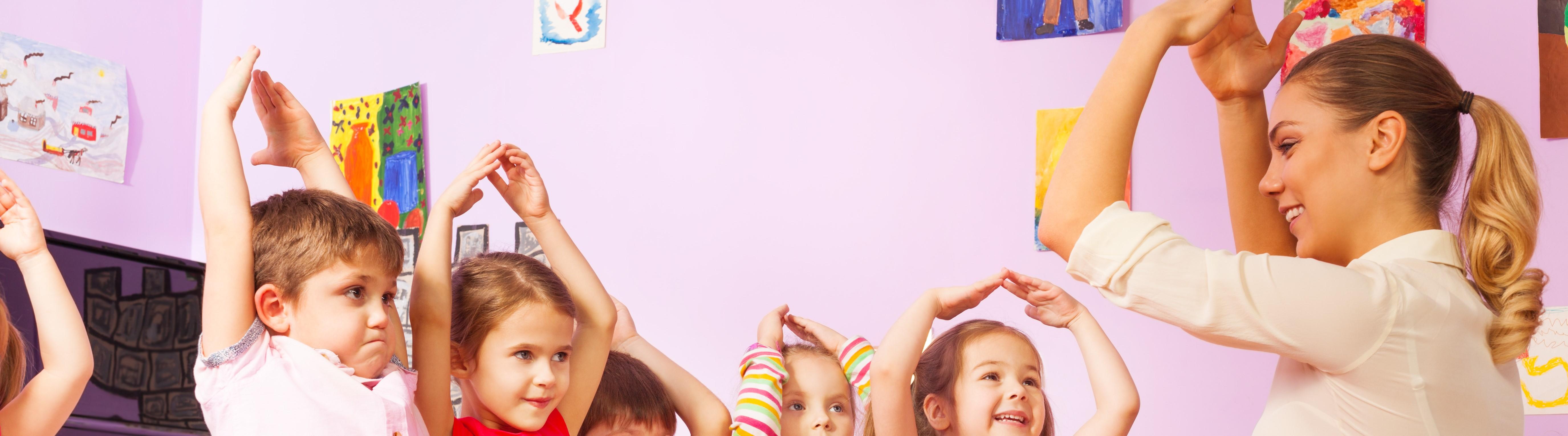 Bilde av barn som leker