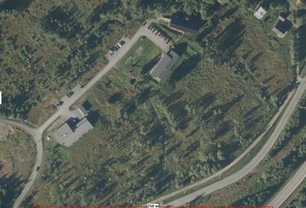 Flyfoto over Øverli