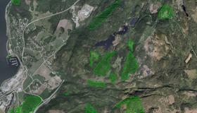 Områder med kalkskog og rikmyr i Gammelåsdalen