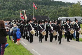 Garden marsjerte fra Coop til Norsk Limtre