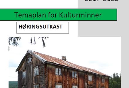 Forside temaplan for kulturminner 2017-2029