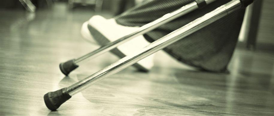 Bilde av krykker