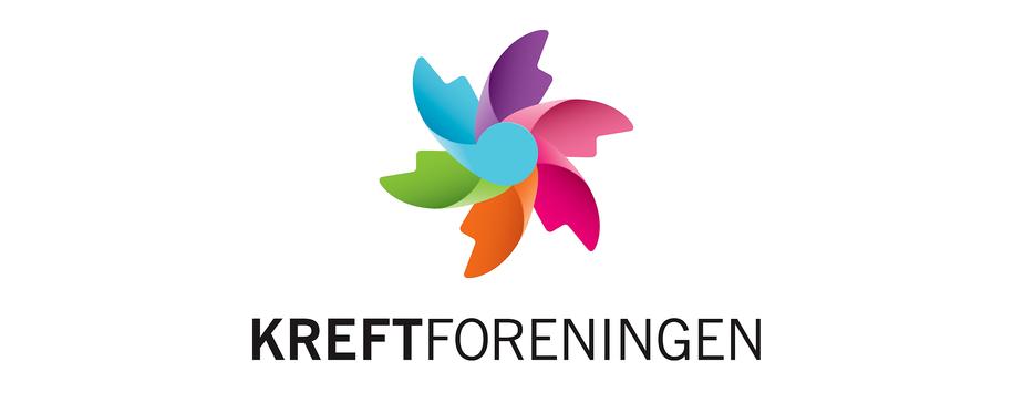 Bilde av Kreftforeningens logo