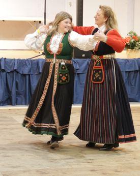 Kirsten og Mari Andrea