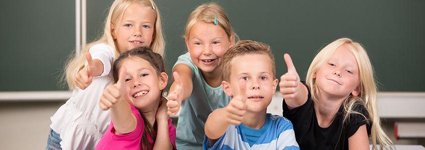 Skolen i Oppegård. Foto: Adobe Stock