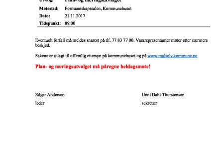 Møteinnkalling Plan  og næringsutvalget    21. 11. 17.jpg?pdfimg= 1