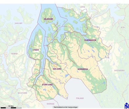 kart over region