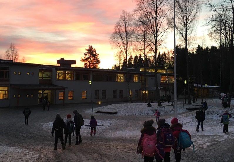 Bilde: Østli i soloppgang