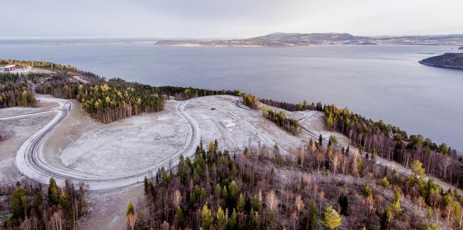 Svebergmarka med utsikt utover Skatval
