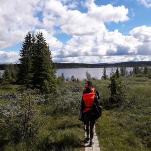 Aktiv ferie 2017 - på vei mot kanotur