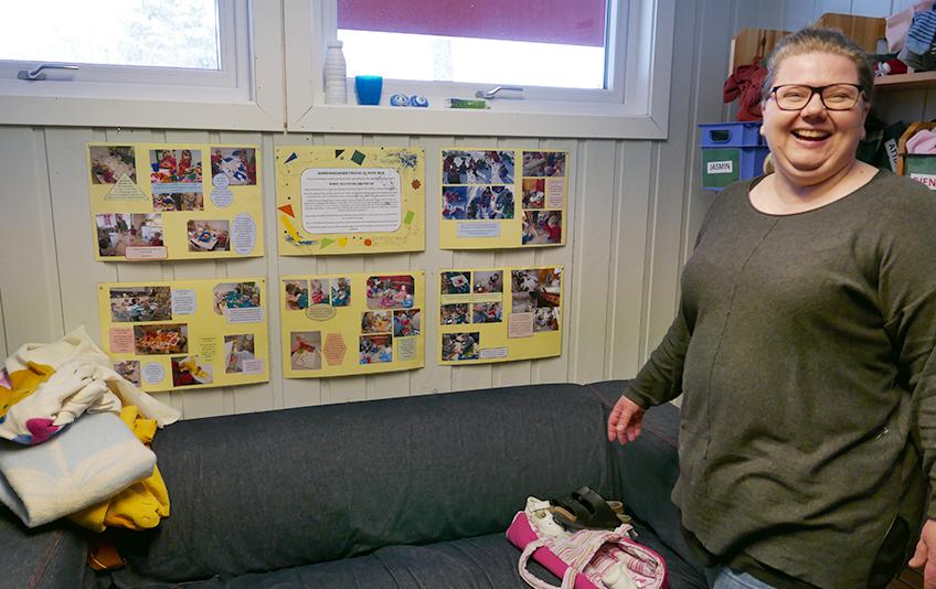 Virksomhetsleder Lise Holen På Hellerasten barnehage