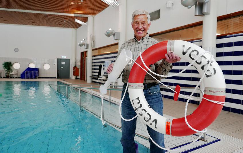 Bjørn Hannestad (80) jobber fortsatt i kommunen etter 50 års tjenestetid. (foto: Jan Walbeck)