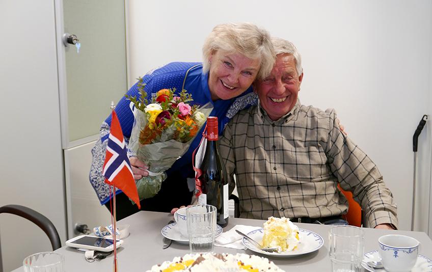 Bjørn Hannestad med Marie Rolstad.jpg