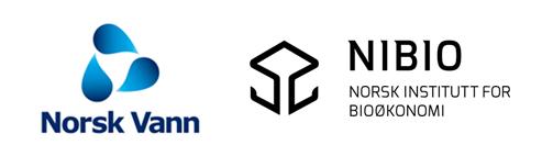 Logoen til Norsk vann og Nibio