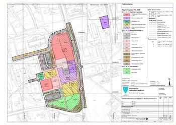 Bilete detaljregulering Falkhytten sentrum