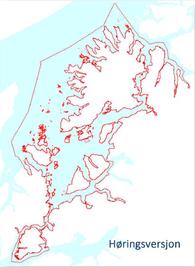 Planområde kystsoneplan