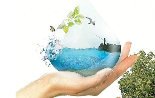 Vann i hand
