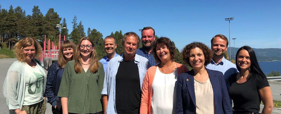 OECD-besøk på Sveberg skole