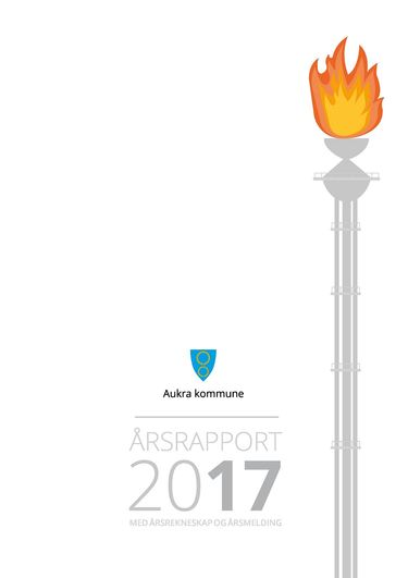 Framside Aukra kommune årsrapport 2017