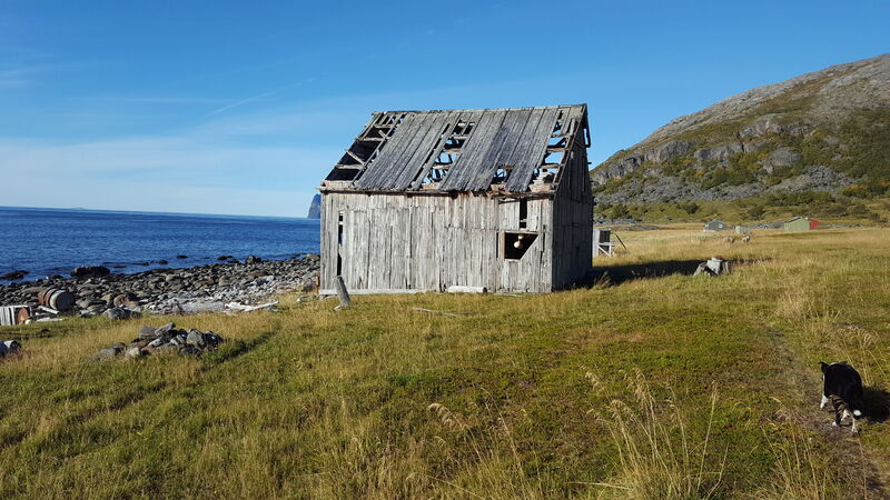 Gammel naust Sør-Rekvik