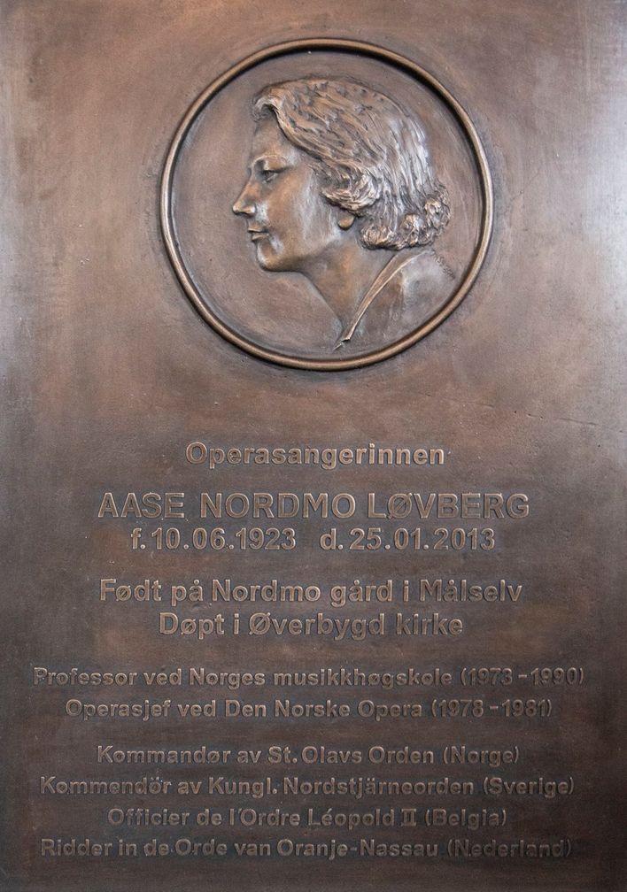 Aase Nordmo Løvberg
