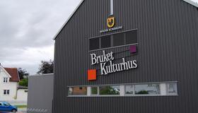 Bilde av Bruket kulturhus fra utsiden
