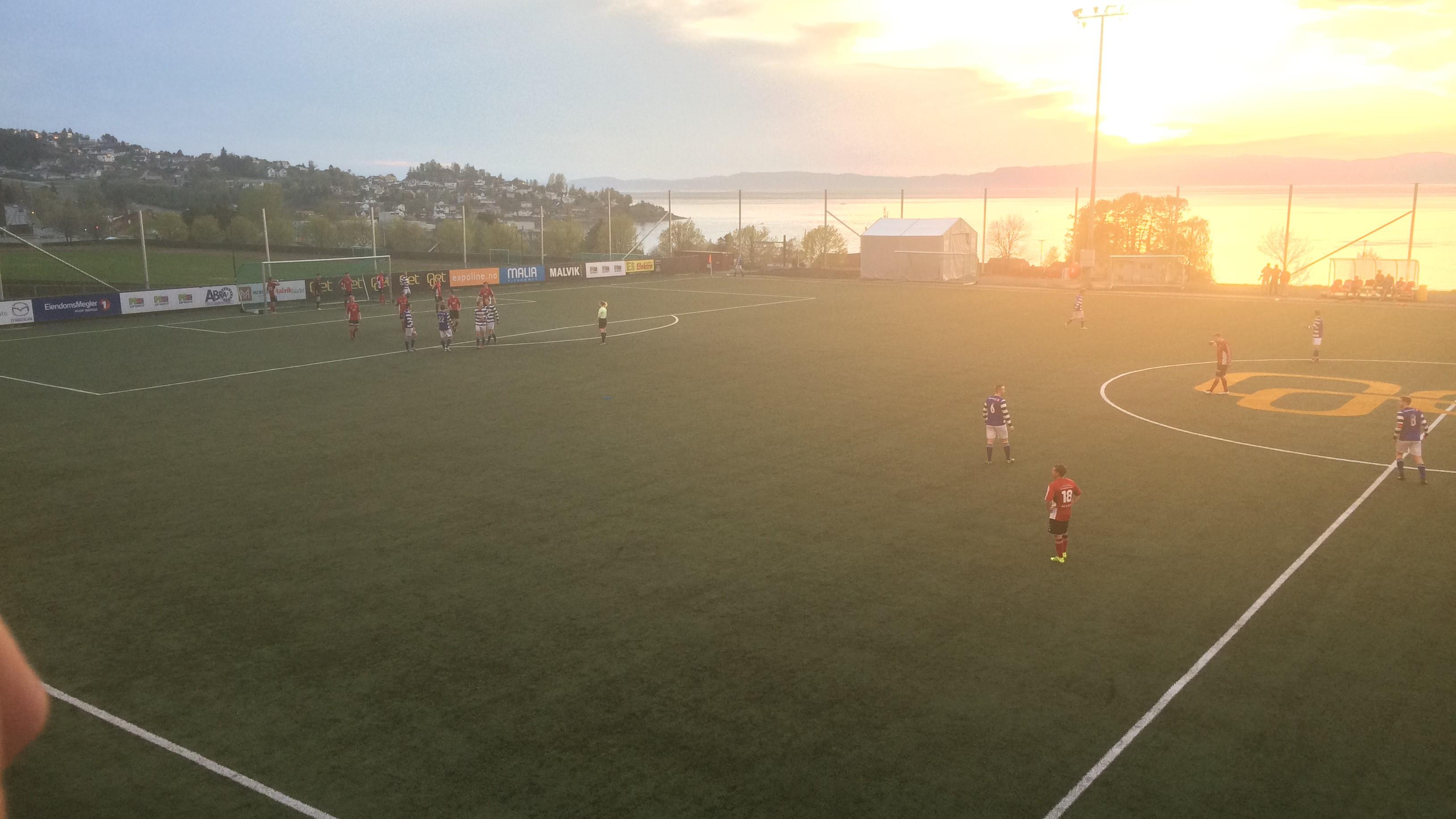 Bilde av Viksletta stadion