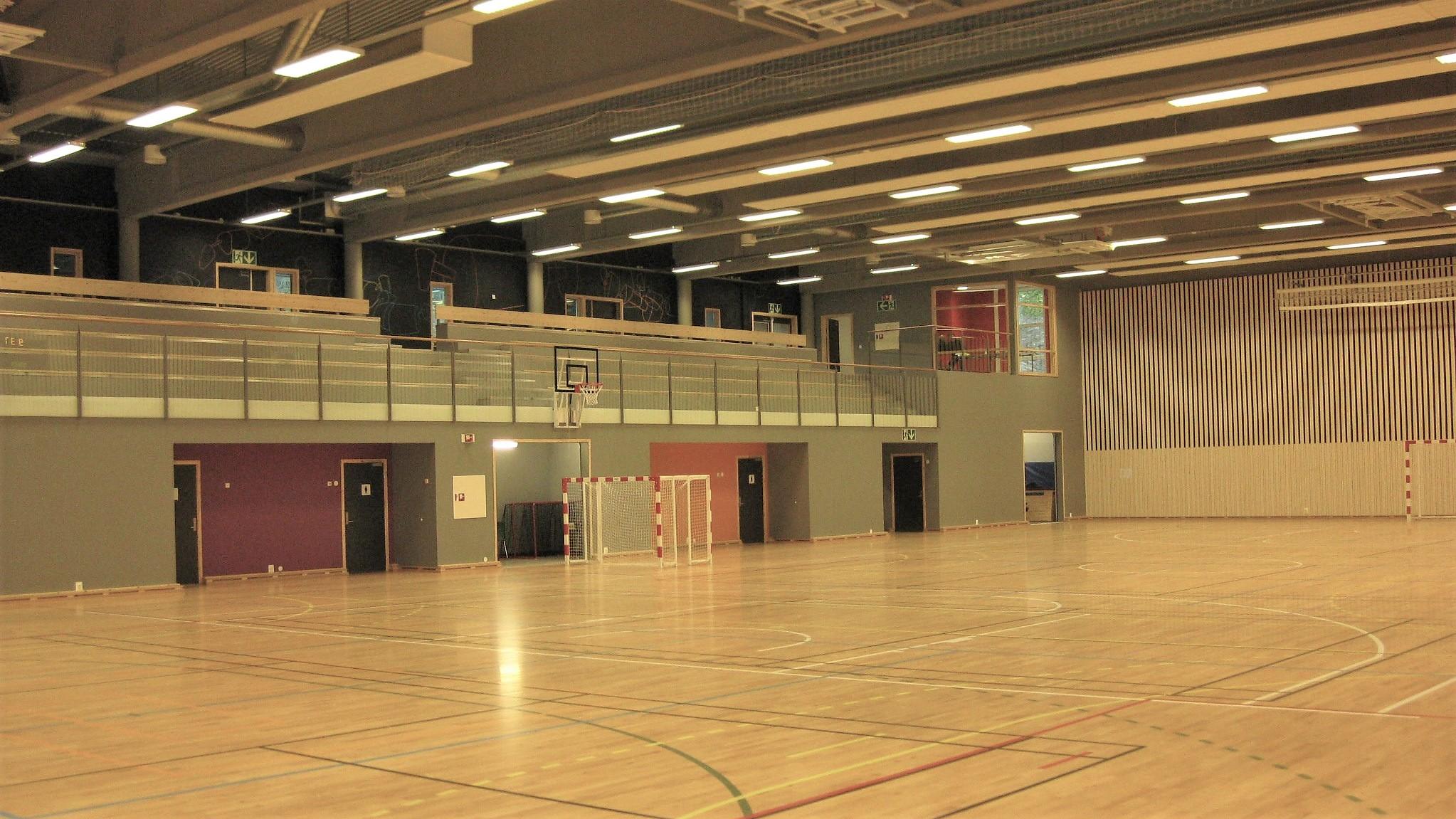 Bilde av Sveberghallen fra innsiden