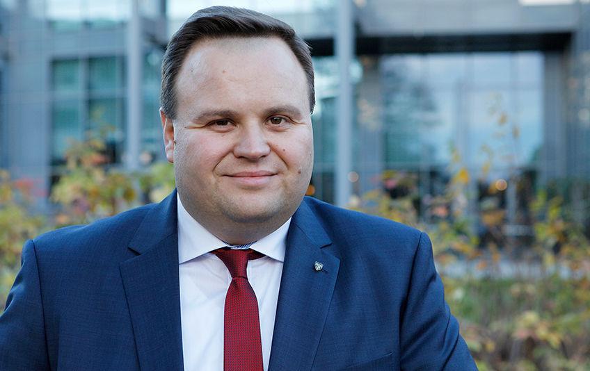 Ordfører Thomas Sjøvold. Foto: Jan Walbeck, Oppegård kommune