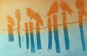 Fugler på rekke