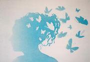 på nytt blått når tankene får
