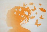 på nytt orange når tankene får