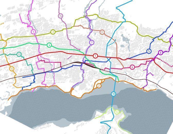 Gåstrategi foreløpig kart