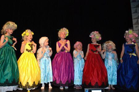 Fargerike prinsesse