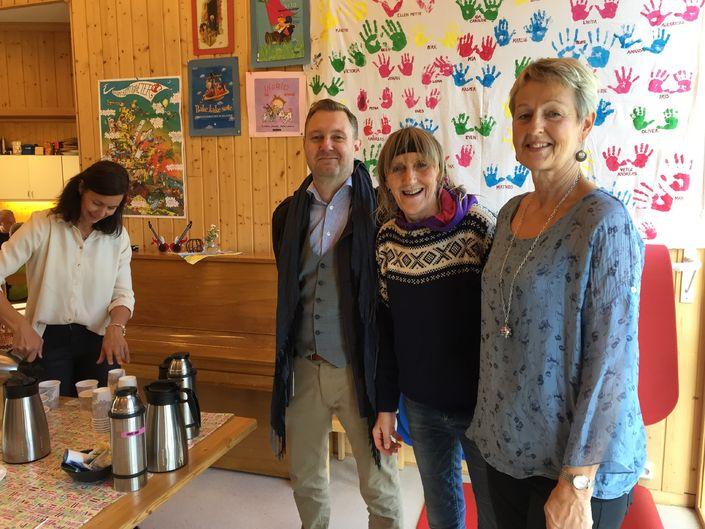Hovedutvalg Folk besøker Røra barnehage