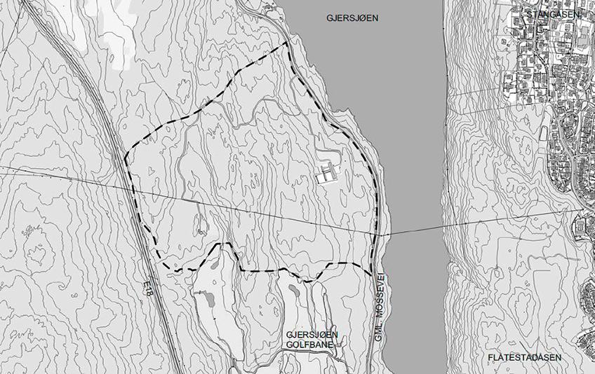 Kurud skog - situasjonskart