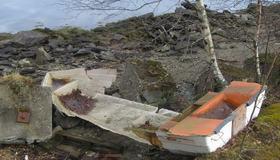 Båtaksjon 2017 - innsamling av båtvrak og eierløse båtvrak i Malvik kommune - hovedbilde