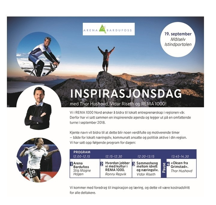 Inspirasjonsdag - Arena Bardufoss