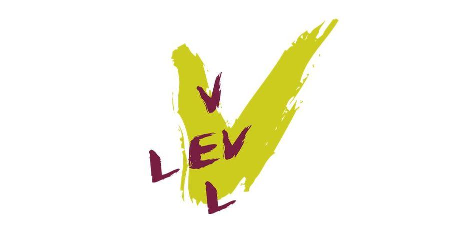 Bilde av LEV VEL-logoen i grønt og lilla